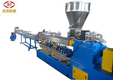 PE PP ABS Polymer Extruder Máy, 75kw Master Batch Making Machine